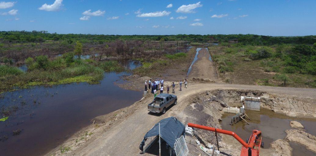 Se inaugurará la obra de defensa del arroyo Huajó con la  presencia del Gobernador y funcionarios nacionales
