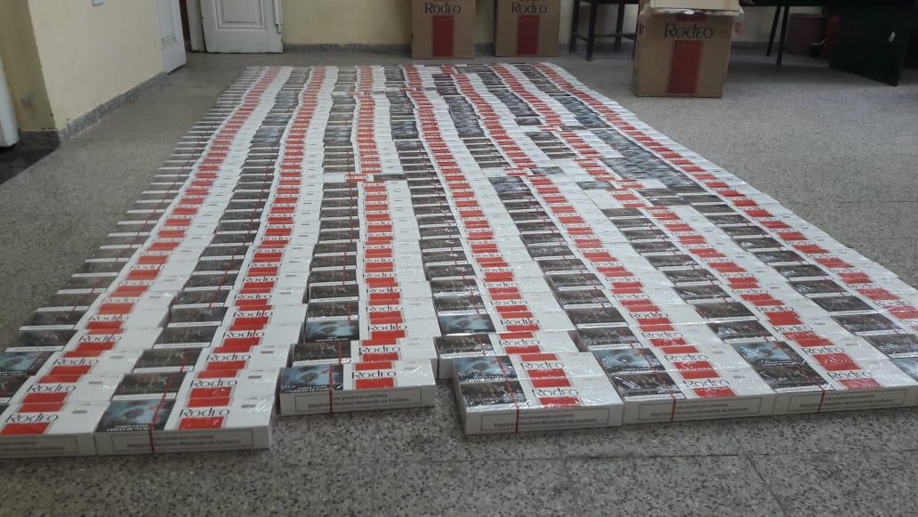 La Policía local incautó cigarrillos de origen extranjero sin el aval aduanero