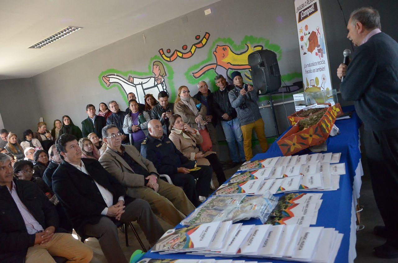 "Presentaron el programa ""Ñande Huerta"",destinado a fortalecer la agricultura familiar"