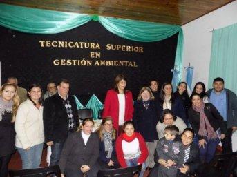 Inauguraron la 1° tecnicatura en gestión ambiental de la provincia
