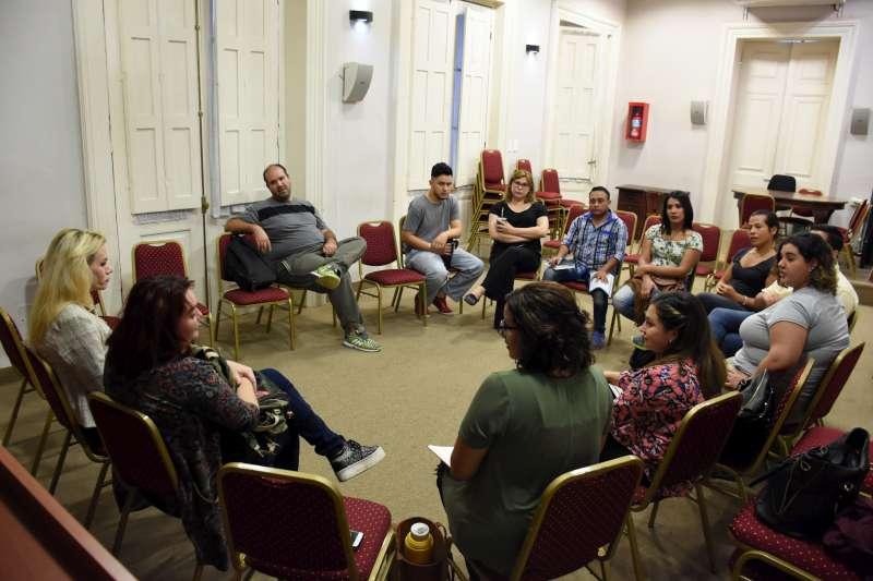 Se realizó una charla de salud con la comunidad LGBTIQ