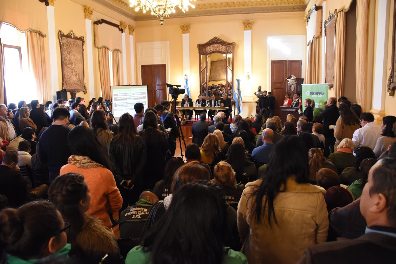 Cobertura Universal de Salud, Tassano garantizó el rol principal de la Municipalidad de Corrientes