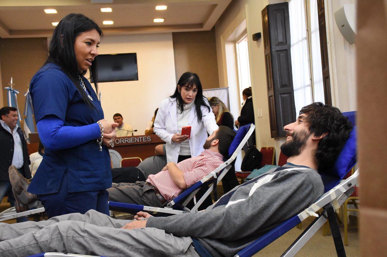 Exitosa convocatoria en la jornada de concientización sobre la importancia de la donación voluntaria de sangre