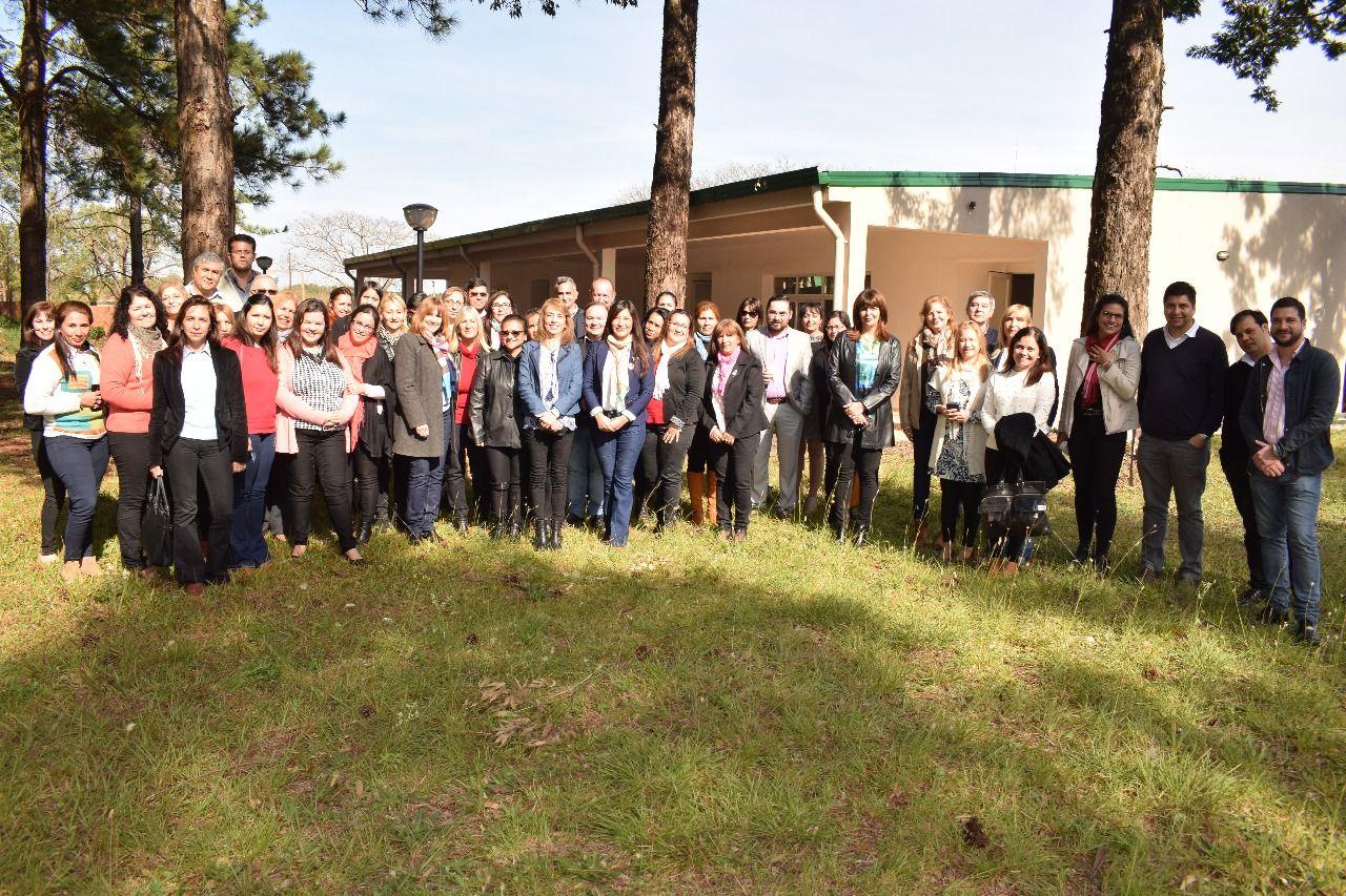 Equipos directivos de institutos superiores realizaron un Encuentro para Mejorar la Gestión Institucional y las Trayectorias escolares