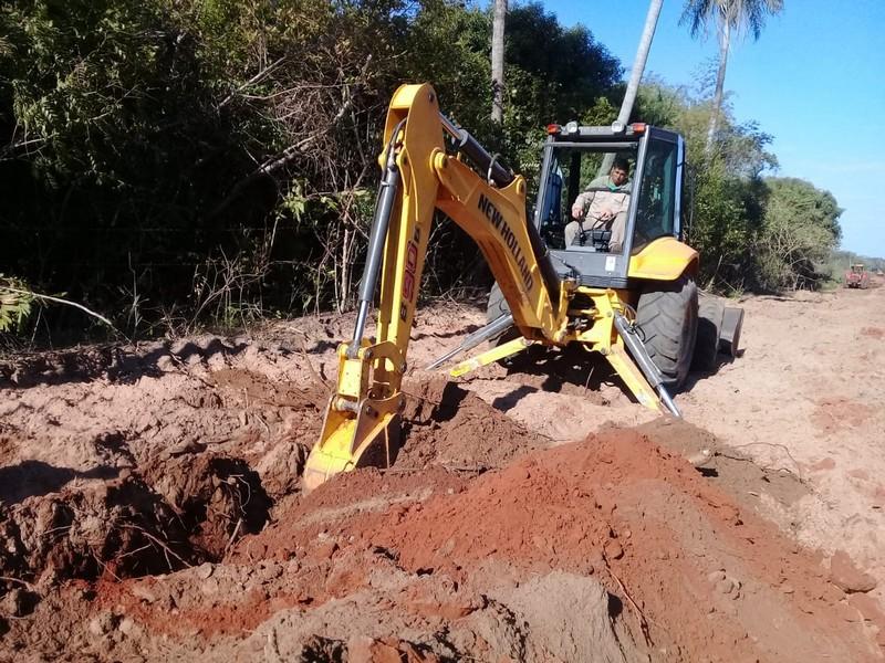 Importante avance de obra en parajes de Itá Ibaté