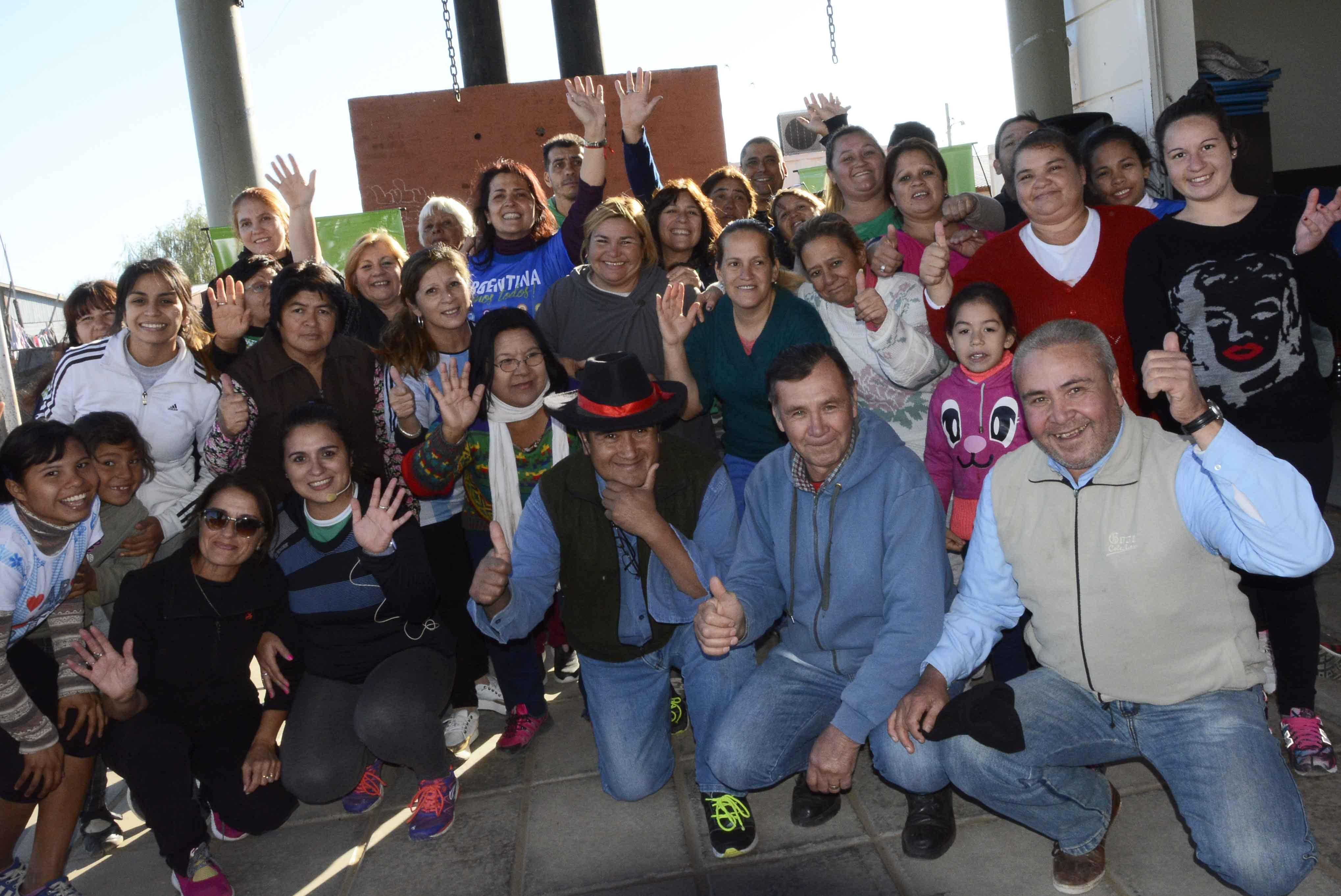 Se realizó otra jornada exitosa del Programa Zumba en tu Barrio