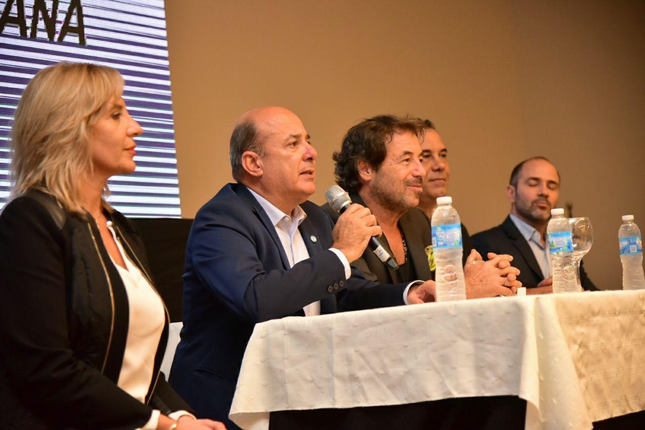 Ricky Sarkany compartió sus experiencias con emprendedores correntinos