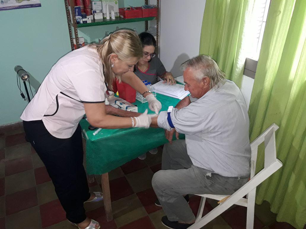 Campañas de detección de arsénico en agua y prevención de cáncer de próstata
