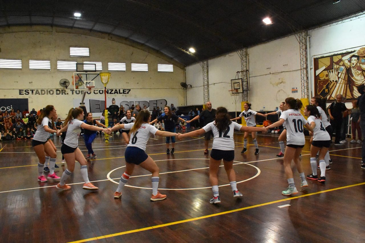La Municipalidad acompañó la 5ª Liga Nacional Sub 14 de Cestoball Femenino