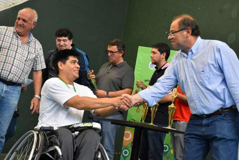 Torneo de pádel en sillas de ruedas, fuerte apoyo a la actividad deportiva inclusiva