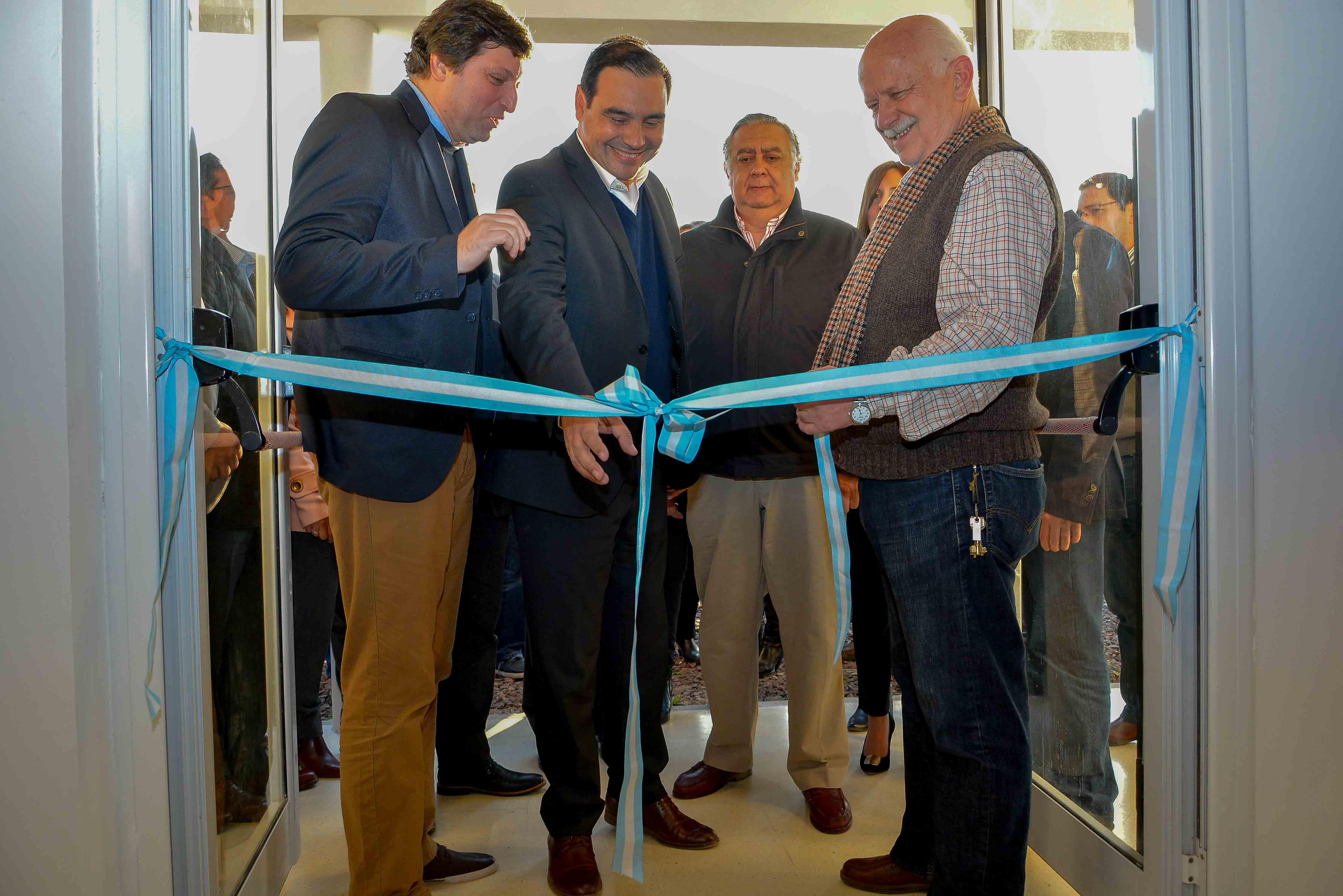 Valdés inauguró el edificio del Parque Tecnológico Goya, con una inversión de más de 5 millones de pesos