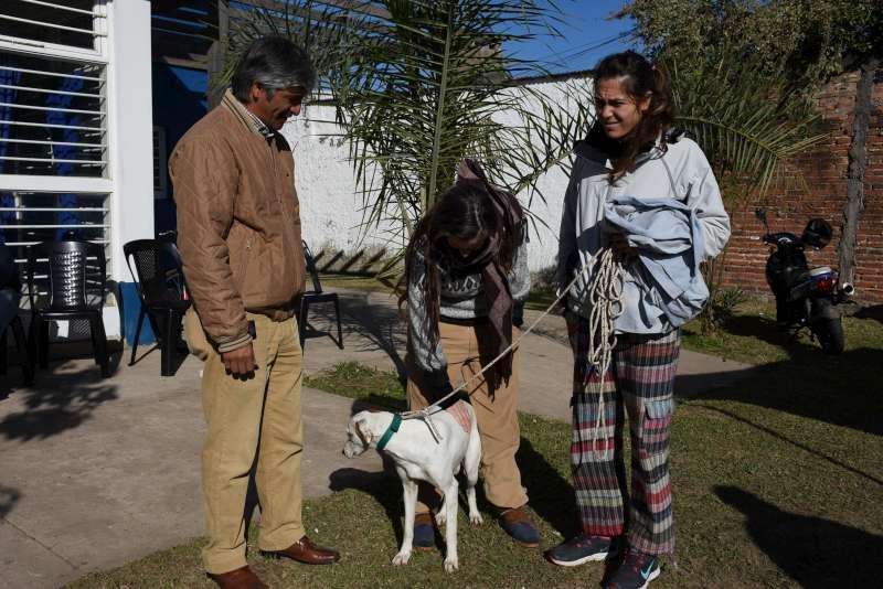 El operativo Mascotas Saludables pasó por el barrio Víctor Colas