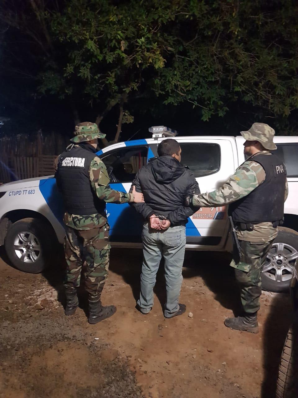 """Cayó el narco Víctor Manuel """"Morena"""" Marín, hermano de un prófugo del Operativo Sapucay"""