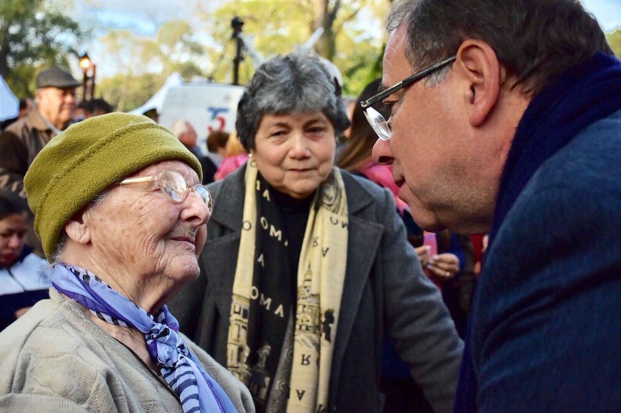 Tassano, en los actos centrales por las Fiestas Patronales en Santa Ana