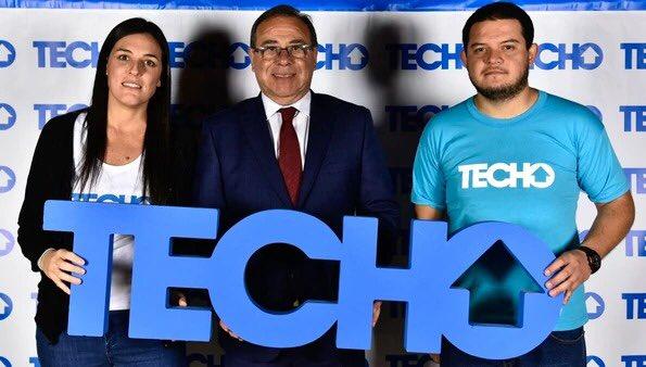 Tassano participó de la cena anual de la fundación Techo en Buenos Aires