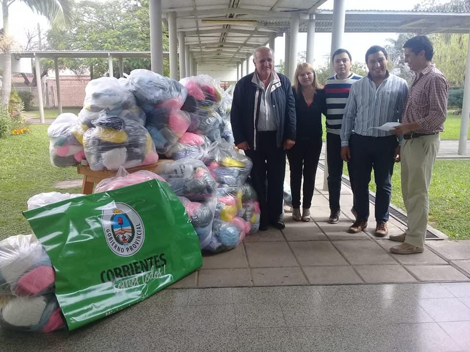 Solidaridad Porá entregó donaciones para Clubes de abuelos, Hogares de Ancianos y Comedores