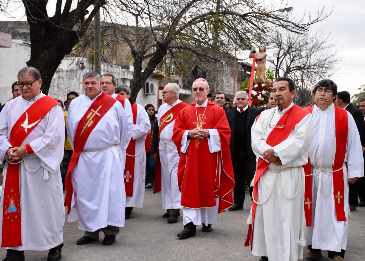 Tassano participó del cierre de las Fiestas Patronales en honor a San Pantaleón