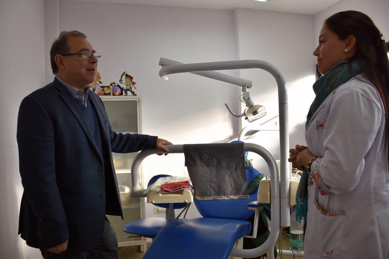 Tassano recorrió Salas de Atención Primaria y diagramó trabajos para mejorar el servicio sanitario
