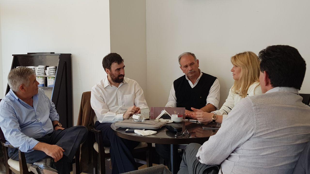 Lanari se reunió con el director nacional de Políticas Habitacionales de la Nación