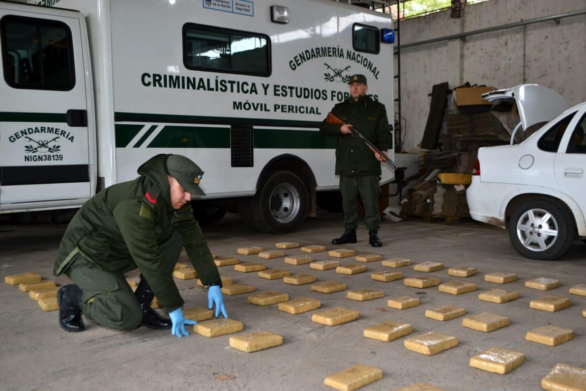 Incautan en Itatí más de 82 kilos de marihuana