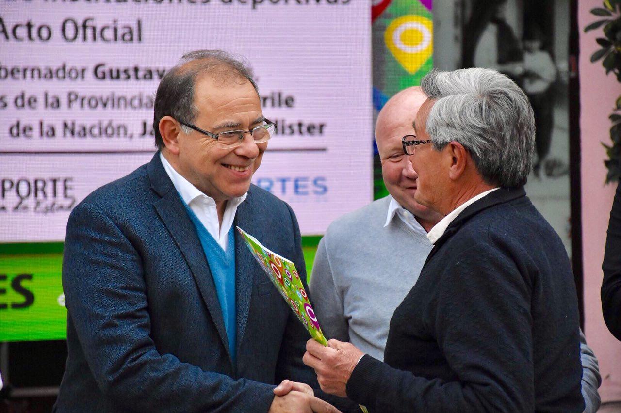 Tassano recibió al secretario de Deportes de la Nación