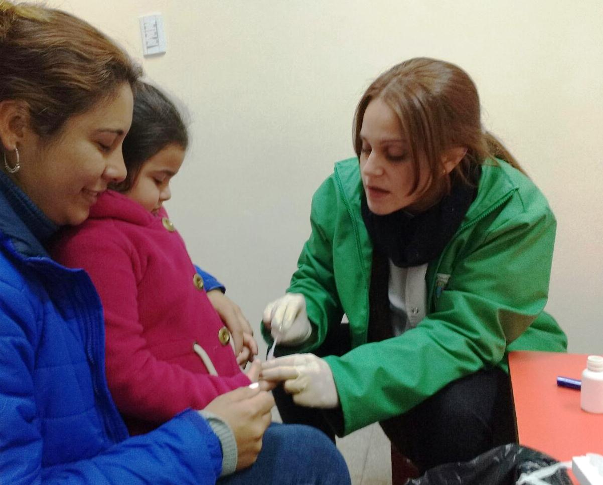 Salud Pública realizó testeos y búsqueda del vector de Chagas en el interior