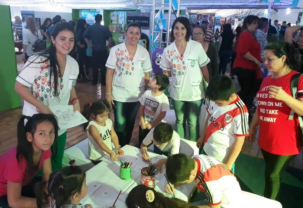 Salud Pública promocionó sus programas en la Feria del Libro