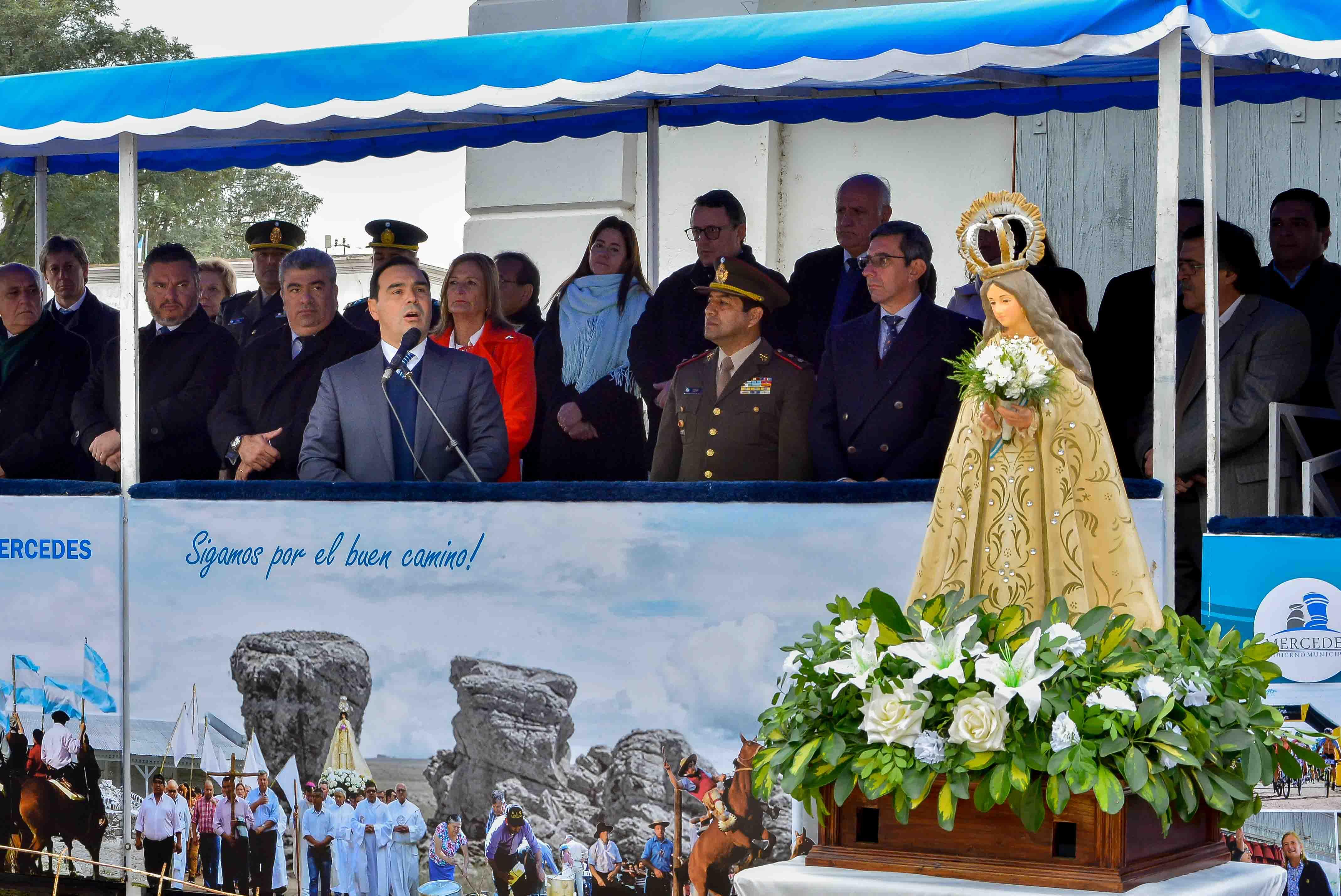Valdés llamó a los mercedeños a deponer diferencias  y sumarse al proyecto de generar el progreso de Corrientes