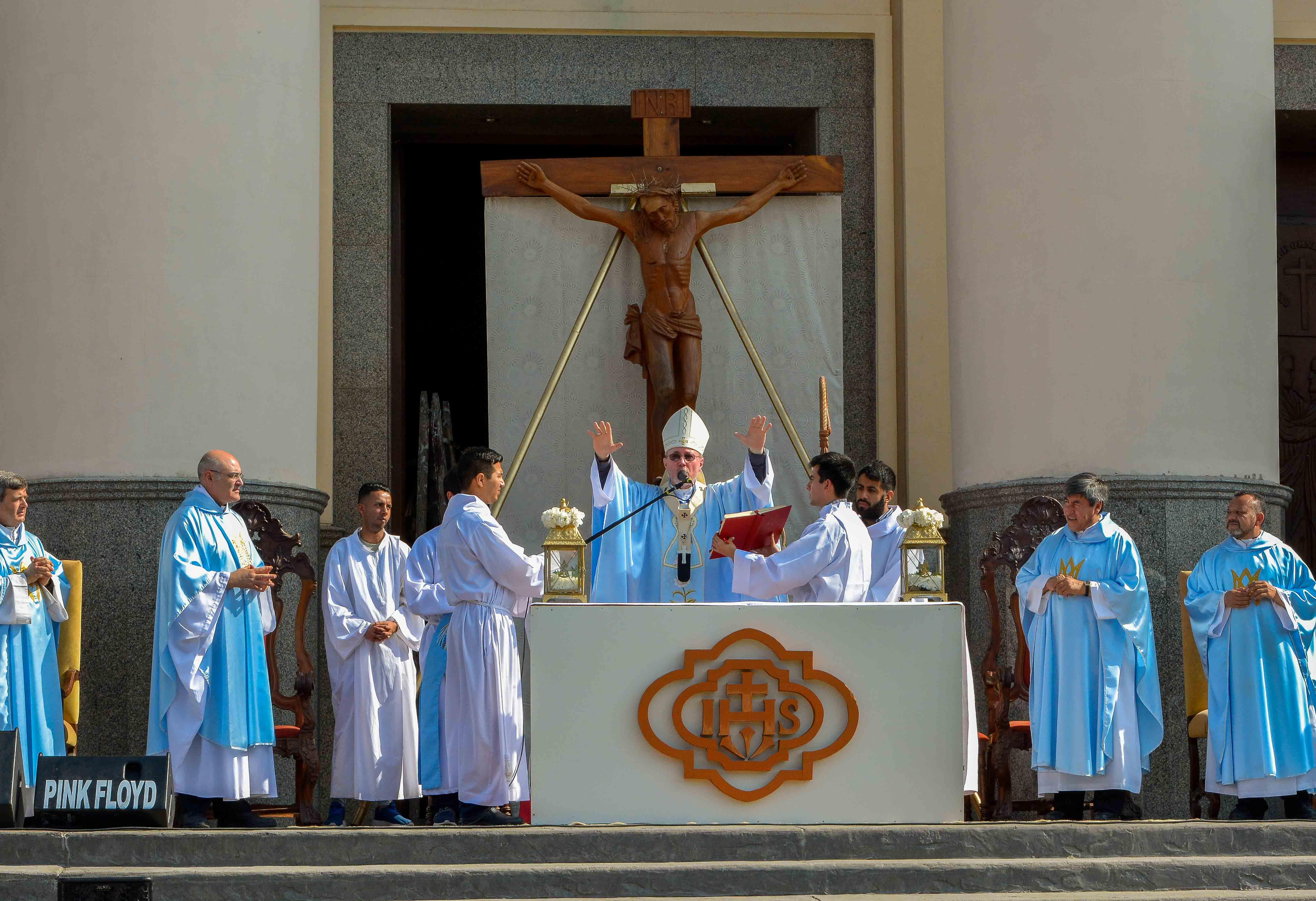 El Gobierno provincial acompañó al pueblo peregrino de Itatí