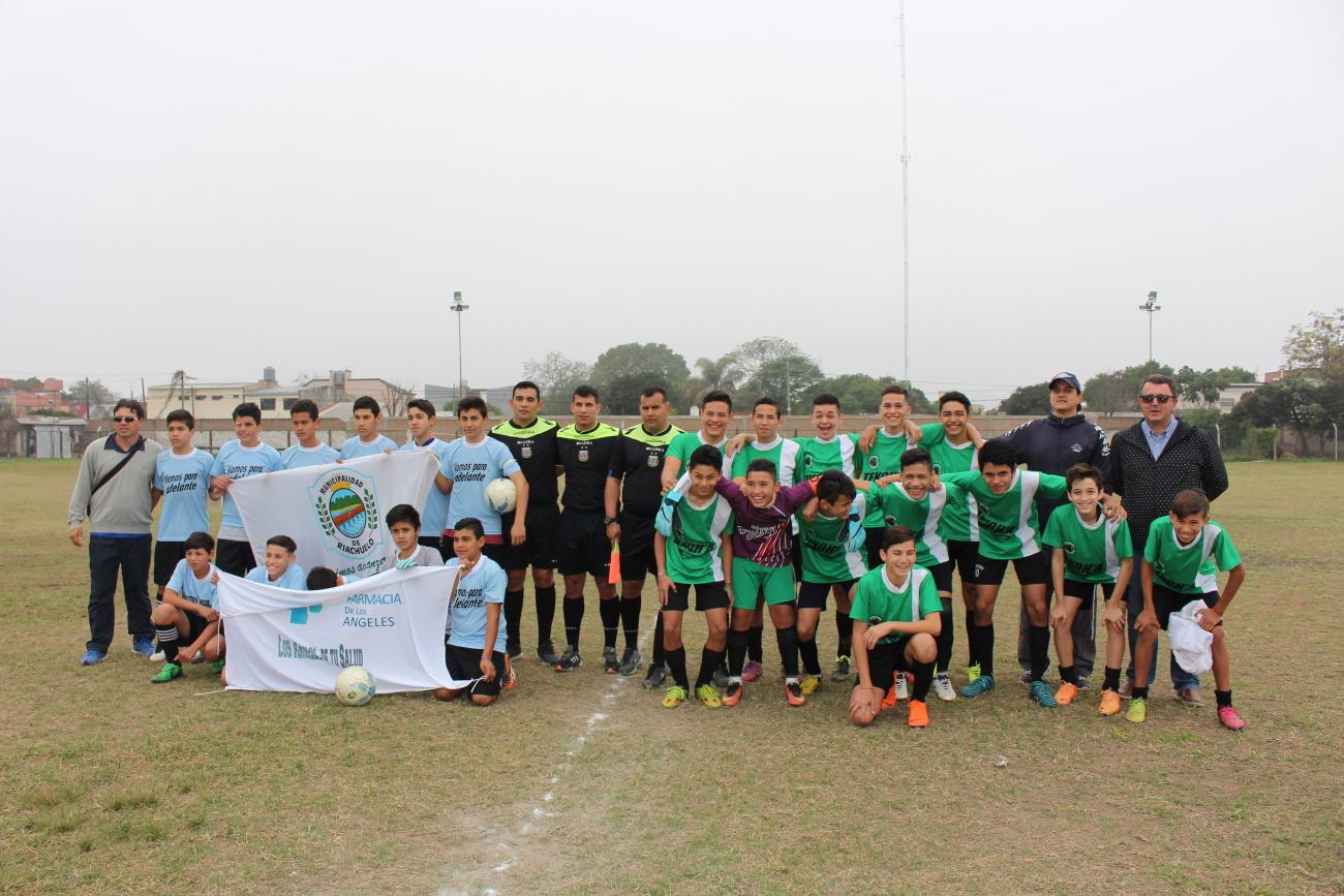 La Zona 6 definió representativos en fútbol que jugarán el Provincial
