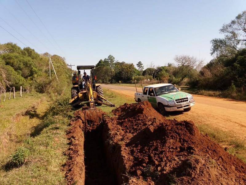 El Plan Aguas avanza con la obra de Manantiales, Departamento de Mburucuyá