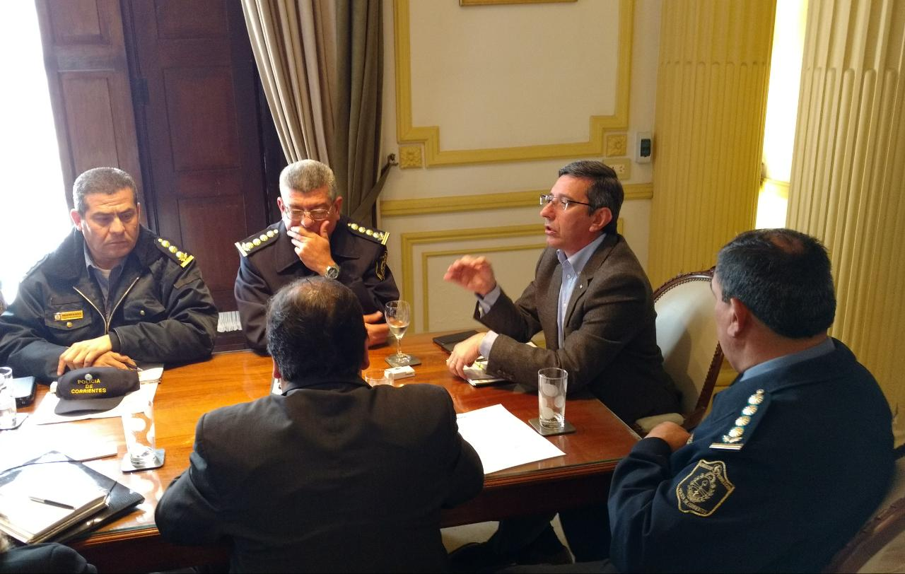 López Desimoni garantizó la seguridad y el orden público en la ciudad