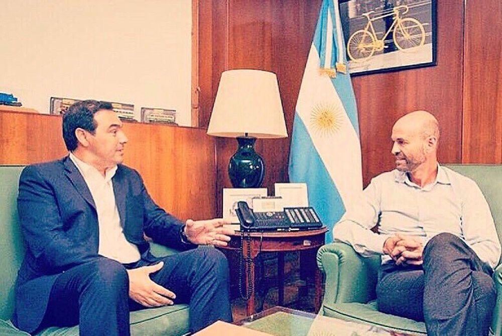 El ministro Guillermo Dietrich  llega este lunes a Corrientes