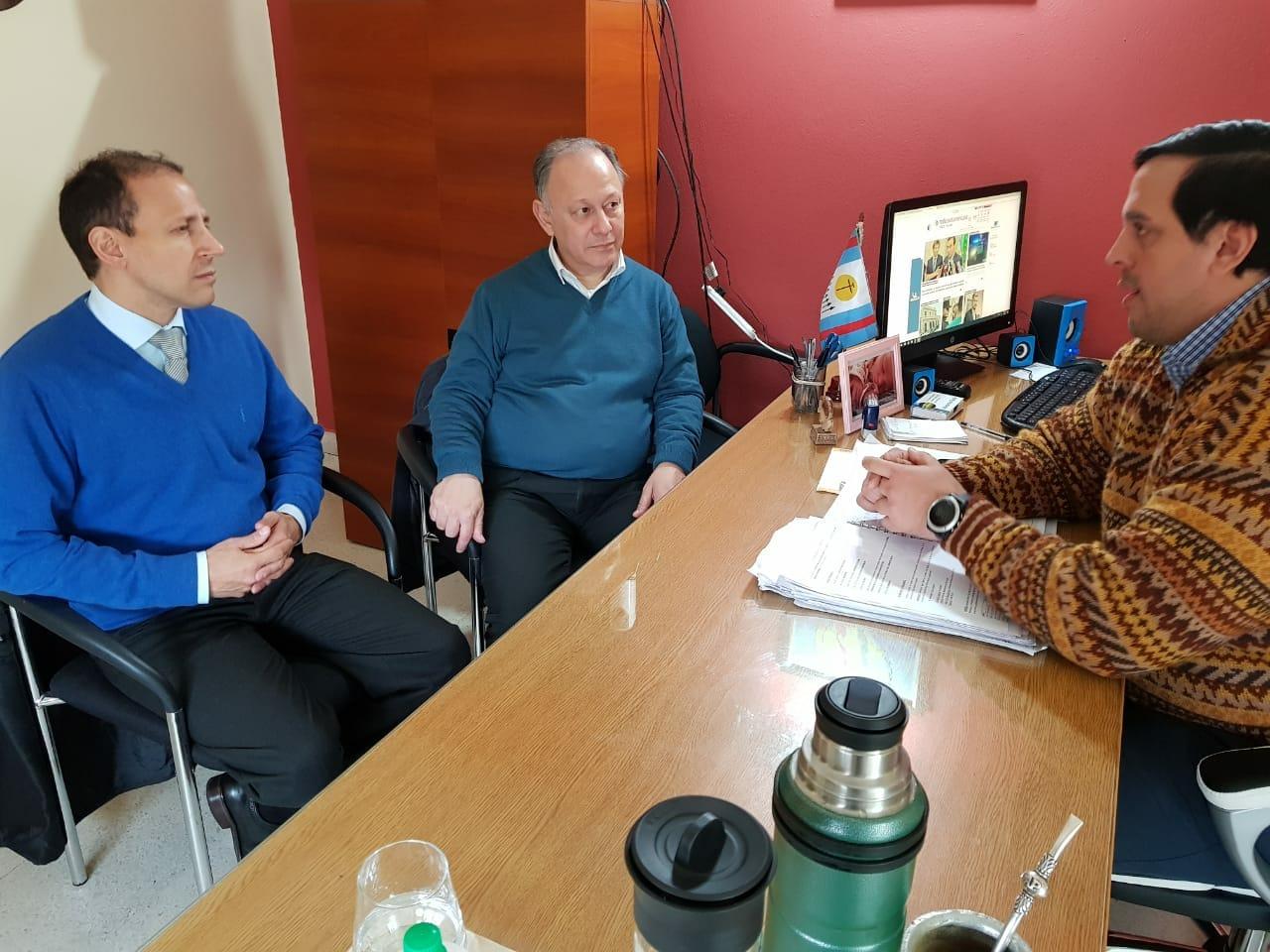 Defensor del Pueblo y Defensor de los Vecinos de capital coordinan agenda de trabajo