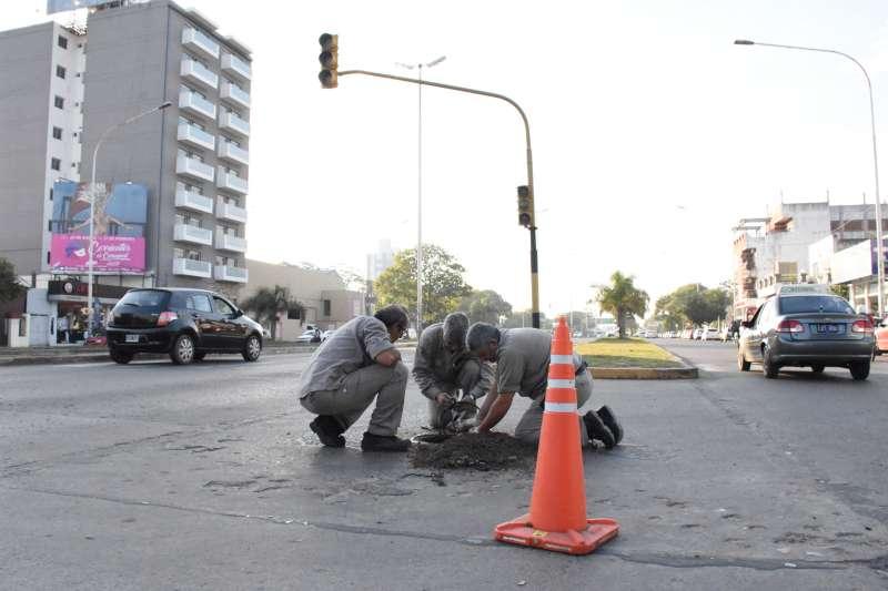 Refuncionalización de semáforos en diferentes zonas de la ciudad