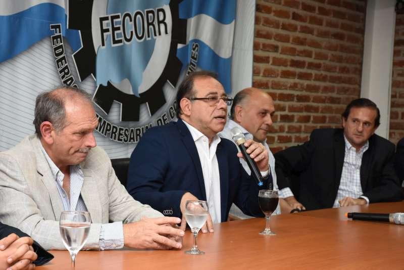 Eduardo Tassano expuso su gestión ante empresarios de Corrientes