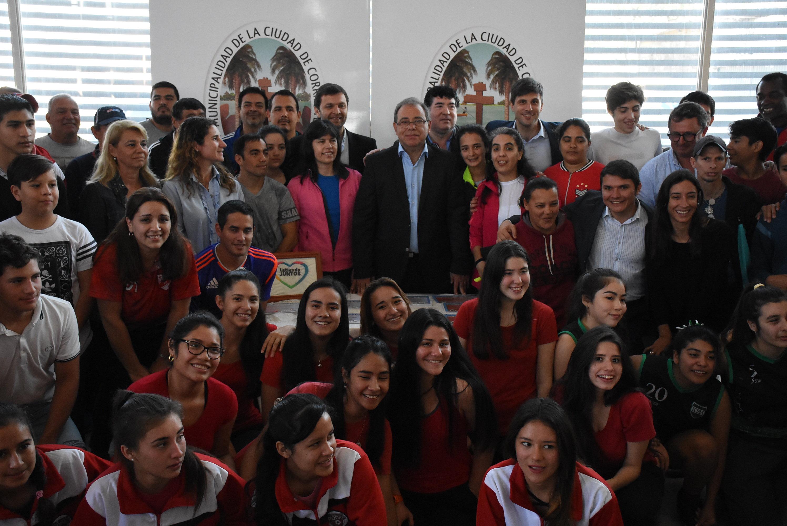 Juegos Deportivos Correntinos: Tassano reconoció a los ganadores de la instancia local