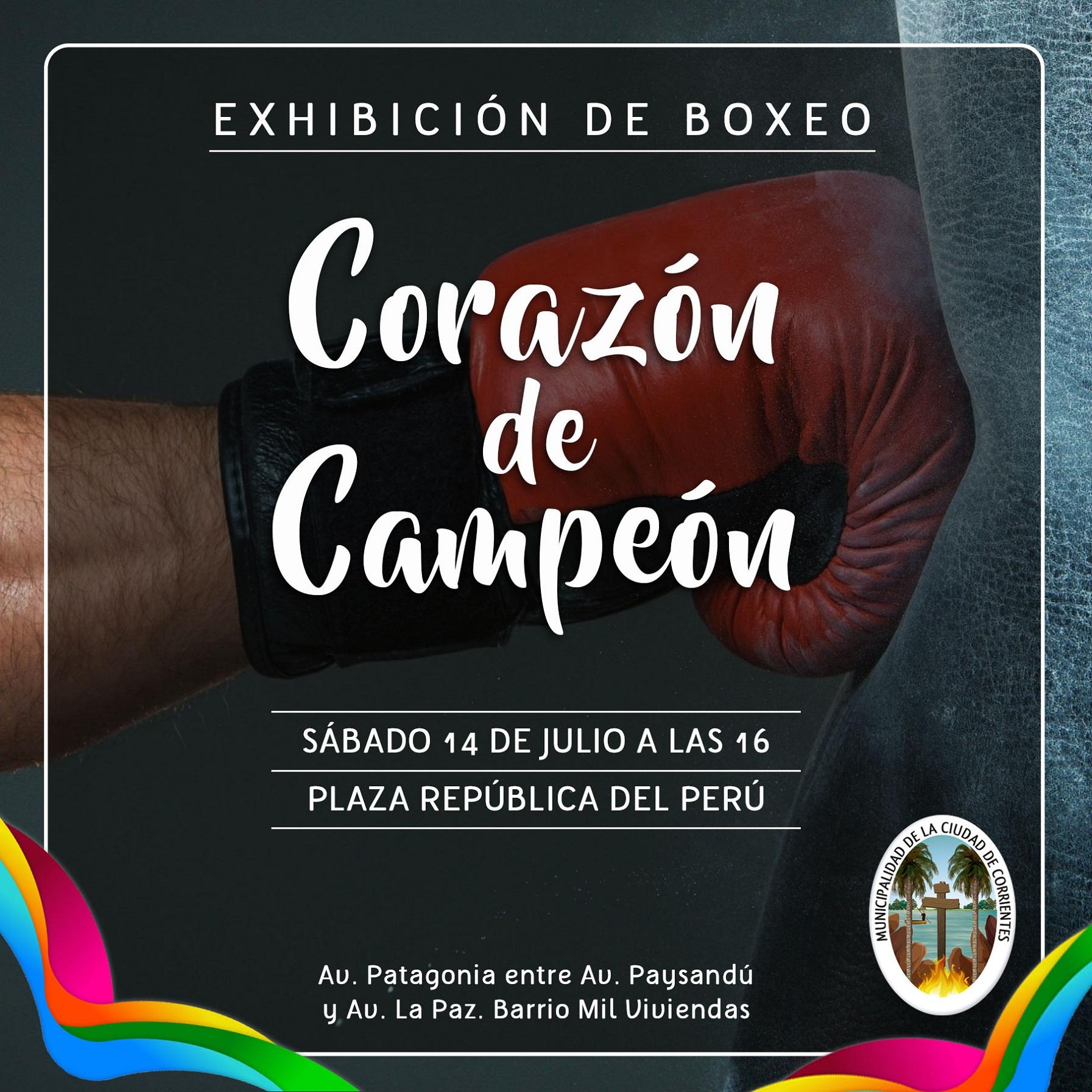 El boxeo amateur llega a las Mil Viviendas con el programa municipal Corazón de Campeón