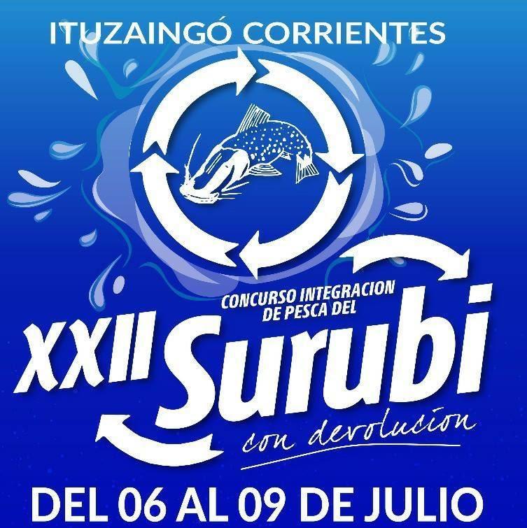 Todo listo para el XXII Concurso Integración de Pesca del Surubí