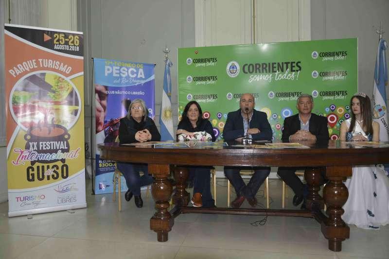 Se realizó la presentación oficial del XX Festival Internacional del Guiso