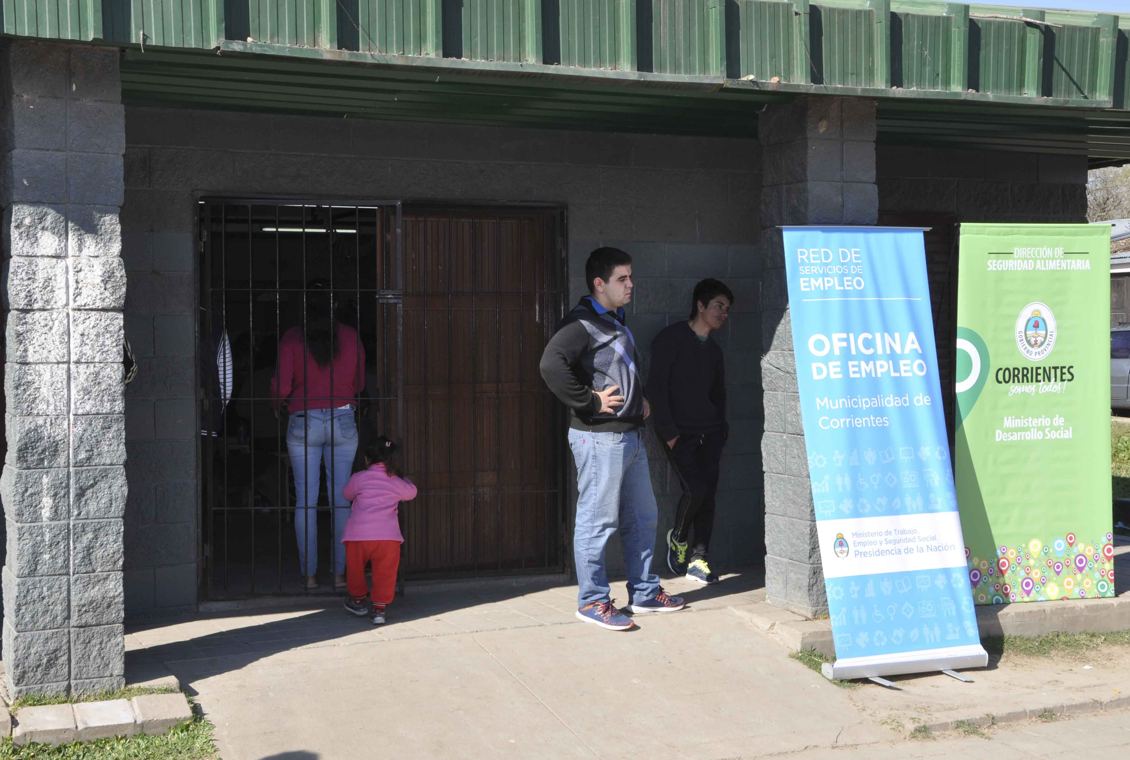 Jóvenes con Más y Mejor Trabajo en el barrio Esperanza