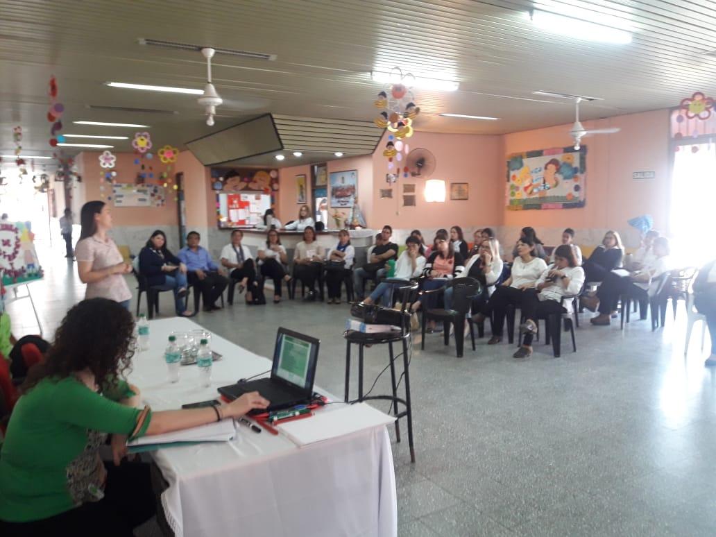 Provincia y Nación capacitan a directivos y equipos técnicos de los CDI