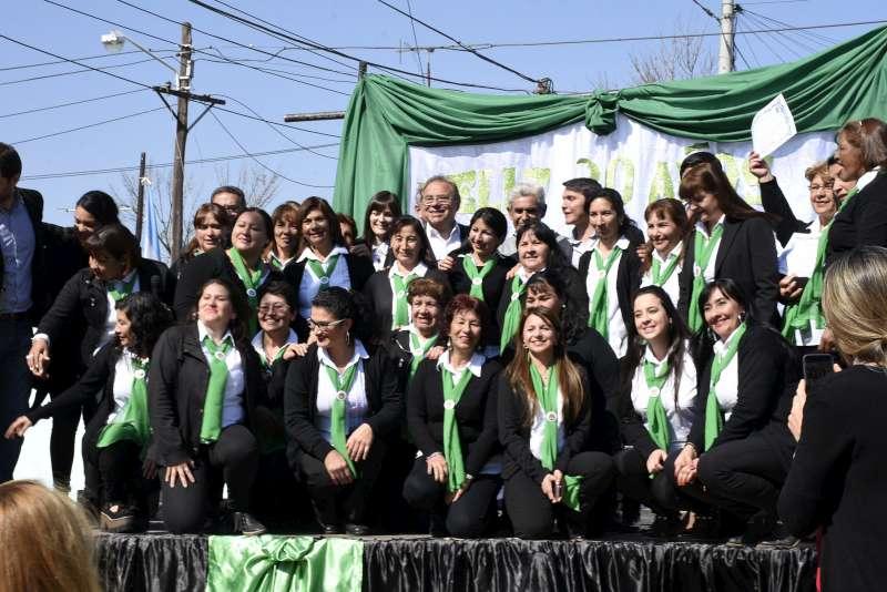 Festejos por los 30 años de la creación del primer Mitaí Roga