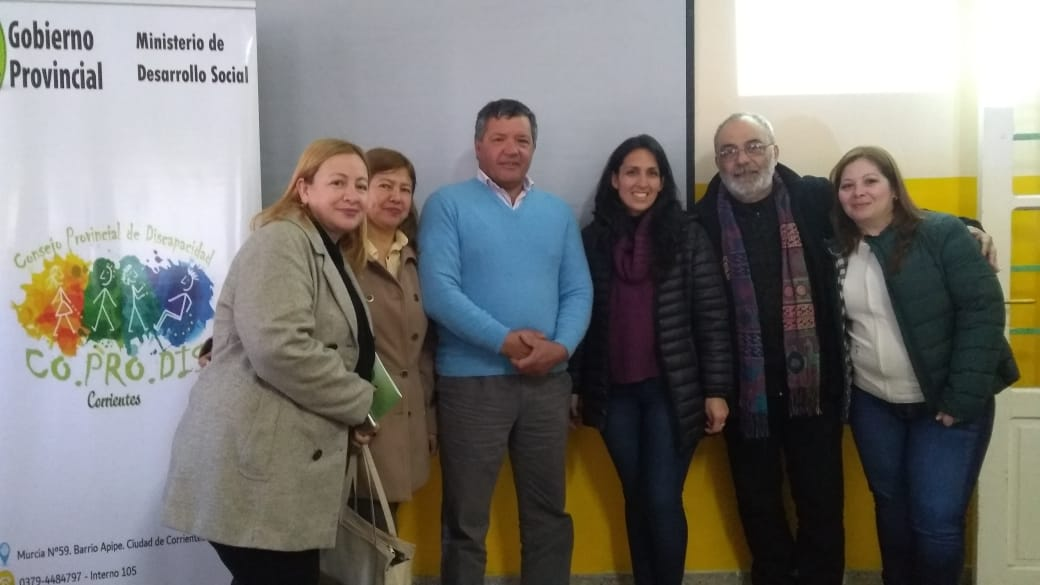 UNICEF Y COPRODIS capacitaron sobre discapacidad y derecho