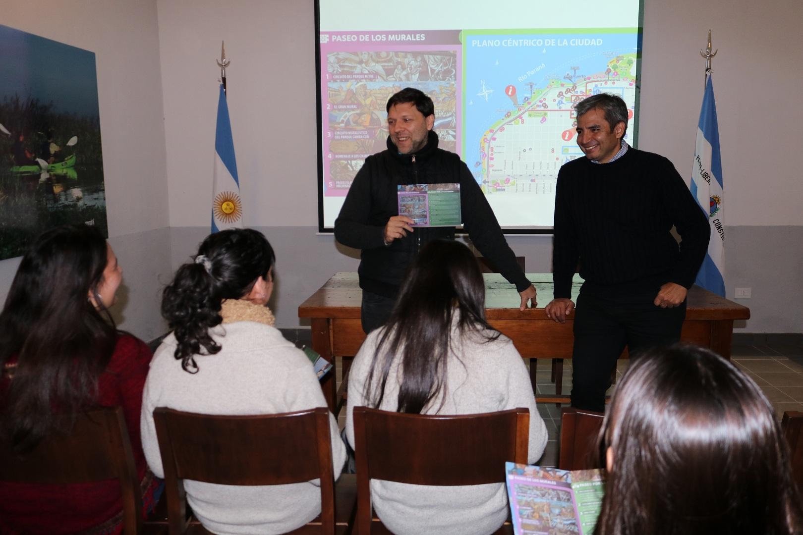Capacitaciones en sensibilización e interpretación del plano de la ciudad