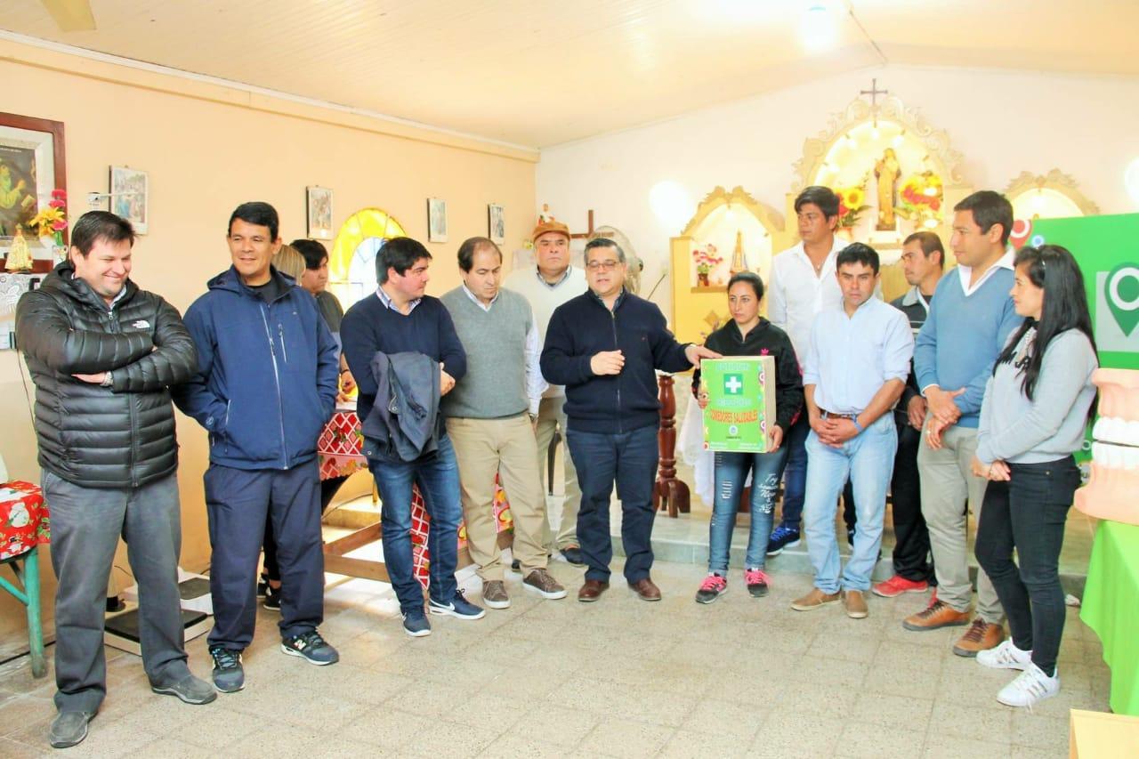 La provincia llego con operativos de salud a la localidad de  San Luis del  Palmar