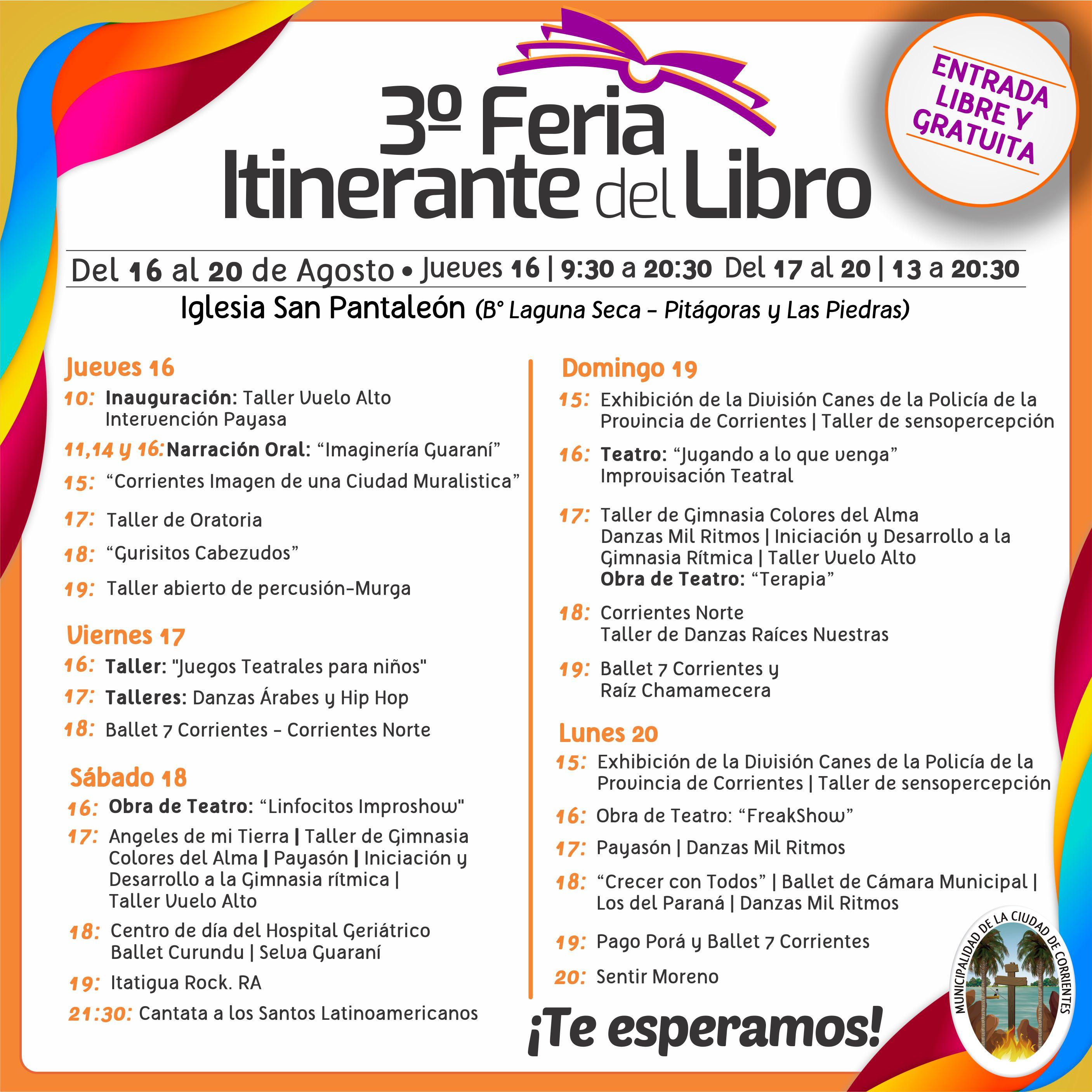 Este jueves arranca la tercera edición de la Feria del Libro Itinerante