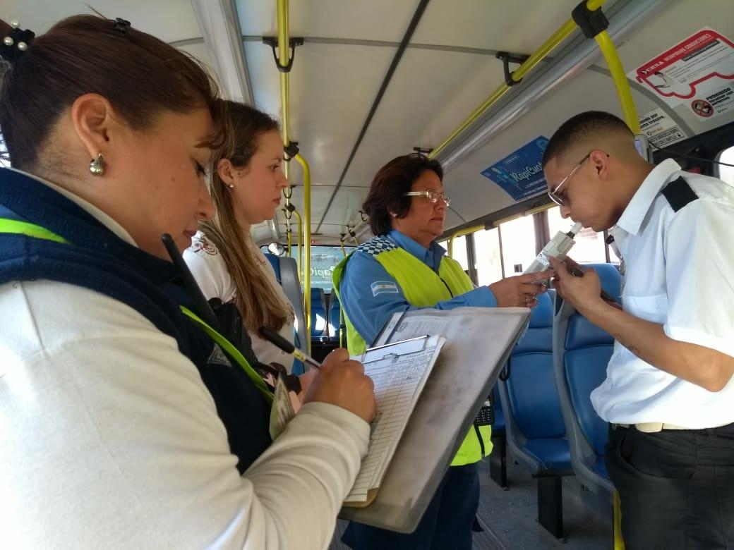 La Municipalidad realiza controles en el sistema de transporte público