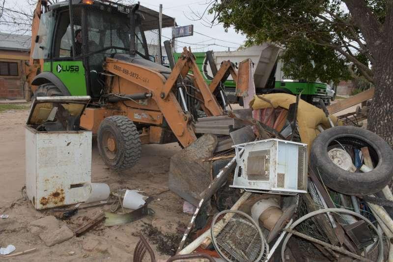 El descacharrado llegó a 108 barrios de la ciudad