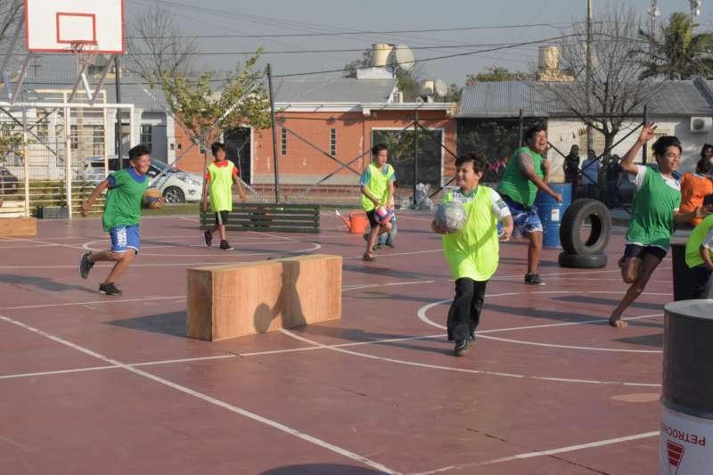 Día del Niño: exitosa jornada de integración comunitaria en el barrio Independencia